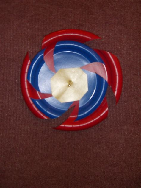 Paper L Ideas - beyblade wall decorations i made out of paper plates from