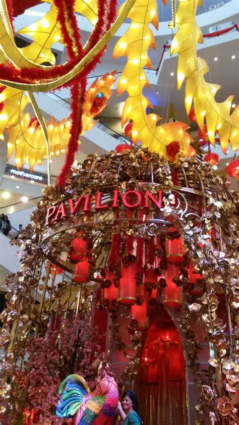new year decorations malaysia pavilion kl new year decoration 2017 2msia