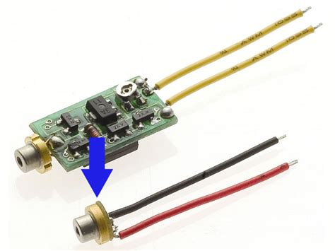 laser diode driver monitor photodiode apc laser diodes power and driver included