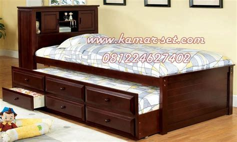Tempat Tidur Minimalis Di Medan tempat tidur sorong kamar minimalis anak kembar ranjang