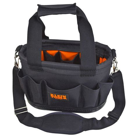 klein tools 7 1 2 in polyester tool tote 55239h the
