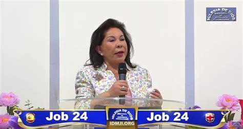 estudio biblico job 42 iov 24 iglesia de dios ministerial de jesucristo