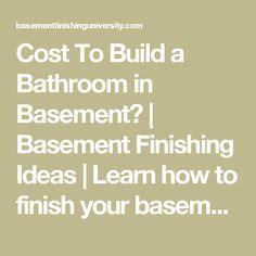 average cost to finish a basement 17 best ideas about basement finishing on