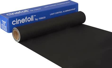 Light Wrap by 12 Inch Roll Aluminum Black Wrap Cinefoil Lighting Foil