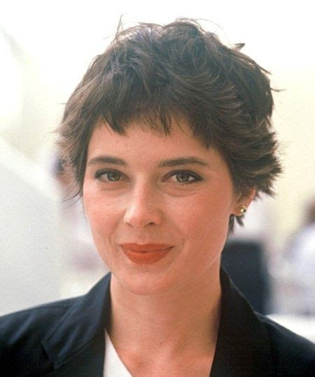 pixie haircut twist in pear shaped face 290 best isabella rossellini images on pinterest