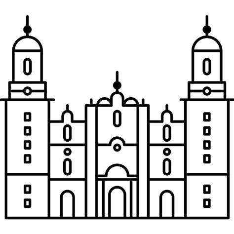 imagenes de iglesias blanco y negro catedral de morelia en m 233 xico iconos gratis de monumentos