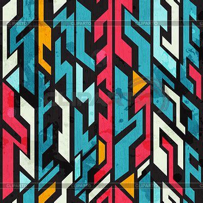 Abstract Graffiti Pattern | graffiti stock photos and vektor eps clipart cliparto 4
