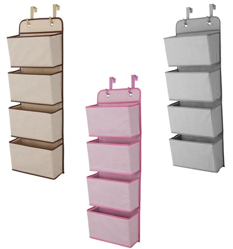 over the door organizer amazon com delta 4 pocket nursery over the door organizer beige baby