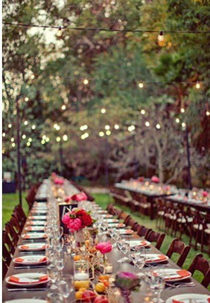Garden Wedding Reception Ideas Languid Lovely Backyard Wedding