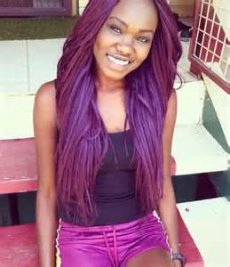 black n purple hair the gallery for gt black girls with purple ombre hair