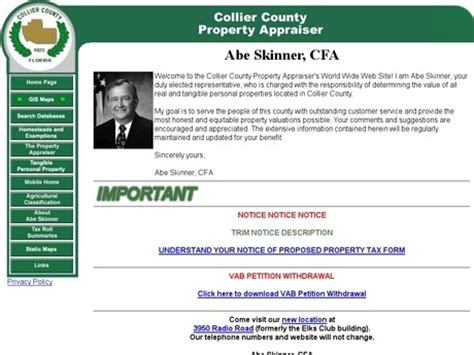 Collier County Property Tax Records Fl Sarasota County Property Appraiser Florida Trend Home Design And Decor