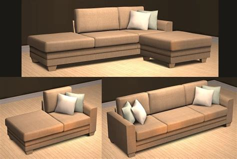 sims 3 couch mod the sims wcif sectional sofa like this