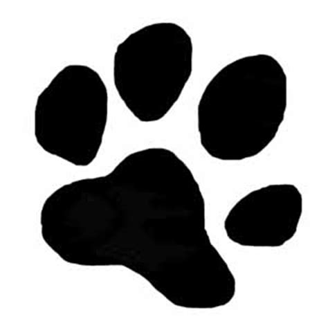 golden retriever paw print swat dogs