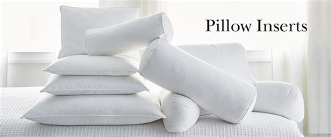 Pillow Sham Inserts by 20 Square Pillow Inserts The Company Store