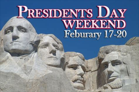 Presidents Weekend | presidents day weekend 2015 getaways party invitations ideas
