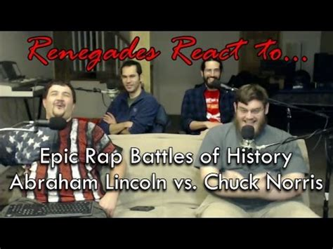 lincoln vs norris renegades react to epic rap battles of history abraham