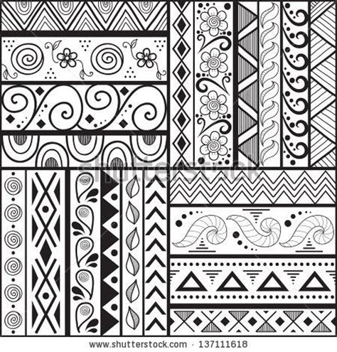 pattern drawing easy 169 best mexican pattern images on pinterest embroidery