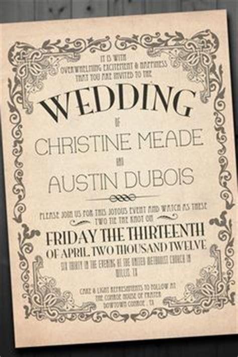 1000+ ideas about vintage wedding invitations on pinterest