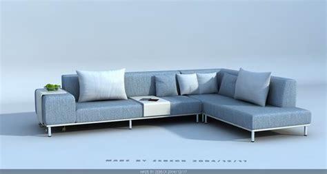 modern style sofa 3d model free 3d models