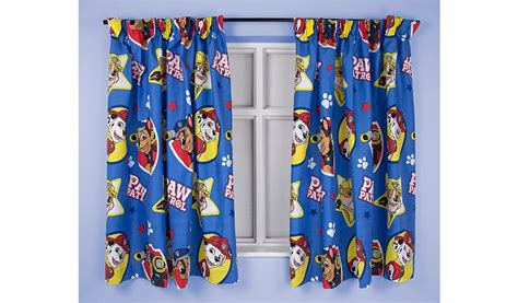 At Home Curtains Paw Patrol Pawsome Curtains Home Garden George At Asda