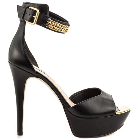 guess shoes ornica black leather shoes booshoesblog