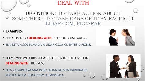 dictionary phrasal verbs aprenda os principais phrasal verbs adjetivos e substantivos deles derivados portuguese edition books aprenda a memorizar os phrasal verbs come up with deal