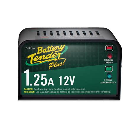 battery tender 12 volt 1 25 battery charger 021 0128
