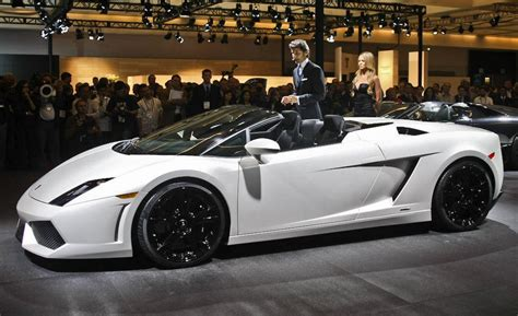 2009 Lamborghini Gallardo Spyder Car And Driver