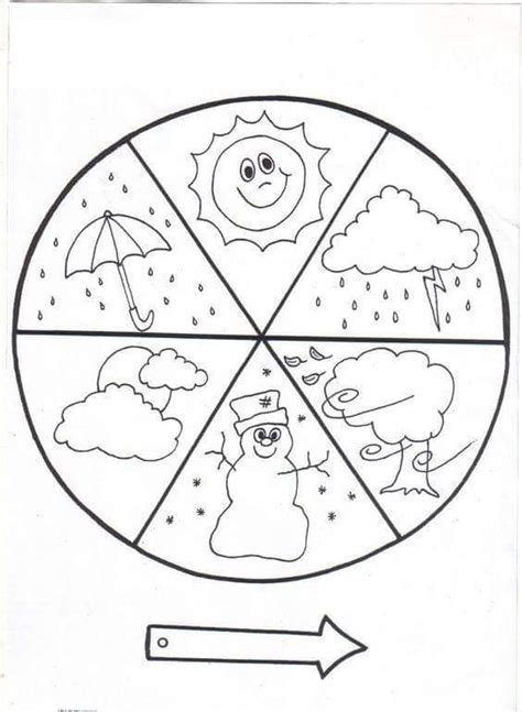 weather coloring pages for preschool 25 best ideas about weather crafts on pinterest weather