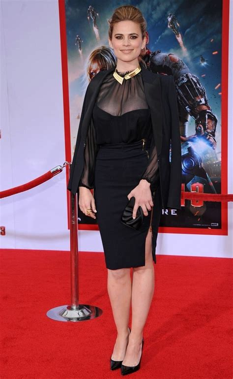 Dress Casual Stm hayley atwell black dress hayley atwell clothes