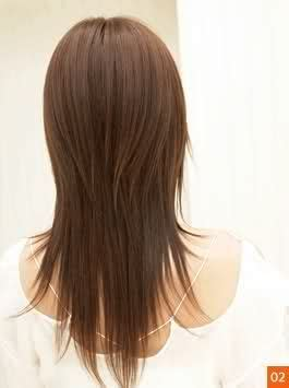 long hair with short layers on crown crown layers bottom too thin imo fashion pinterest