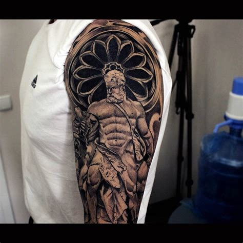 antique hercules shoulder tattoo best tattoo ideas gallery