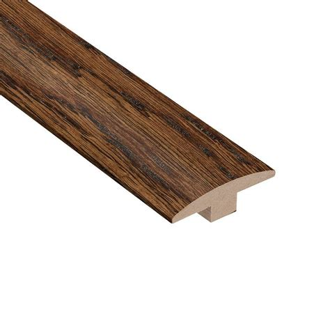 home legend distressed montecito oak 3 8 in thick x 2 in wide x 78 in length hardwood t