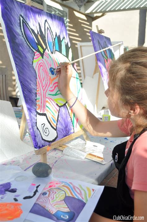 painting for tweens and social artworking painting tween
