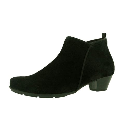trudy 75 633 17 black suede ankle boot