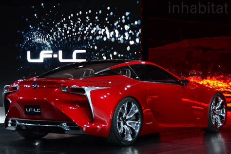 lexus concept sports car exclusive photos lexus unveils new lf lc luxury