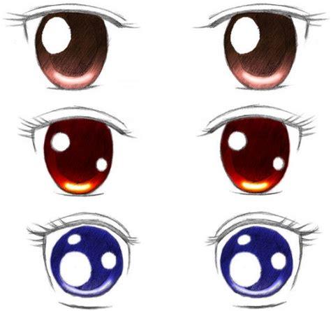 imagenes de ojos normales dibujar ojos anime