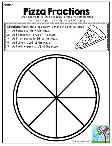 simple fractions no prep packet homeschooling