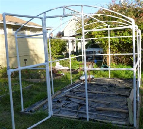 building a pvc greenhouse ramblings of a maniac