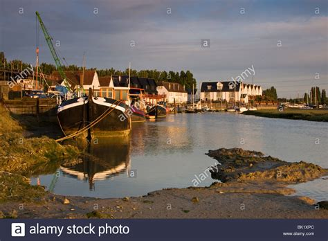 thames river estuary conyer creek near faversham in kent is an estuary off the