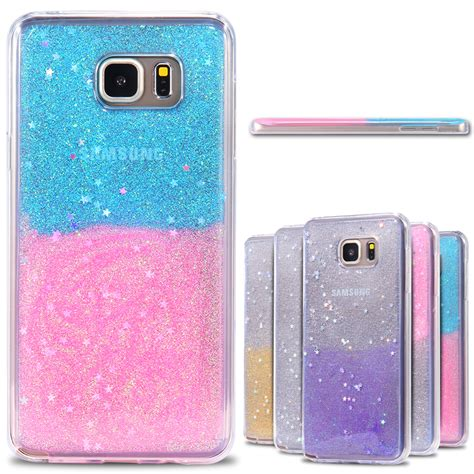 Casing Samsung Galaxy Note 5 My Wide Custom Hardcase luxury slim clear back cover for samsung galaxy note 5 n9200 soft tpu glitter bling