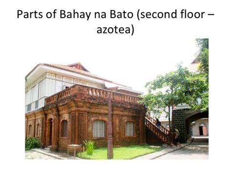 cuarto bahay na bato parts of bahay kubo