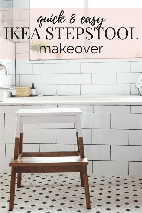 ikea hack farmhouse style step stool beatnik kids ikea bekvam stepstool makeover love renovations