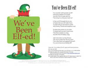 you ve been elf ed start a neighborhood holiday tradition organized christmas