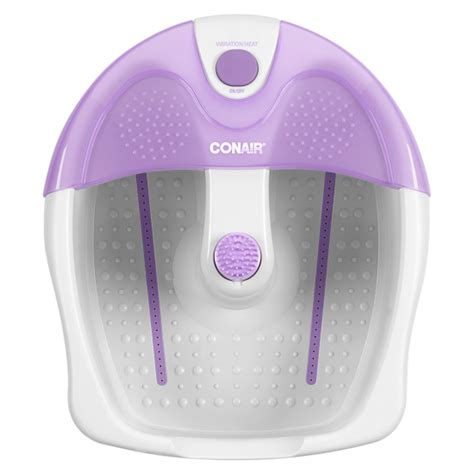 spa massage foot massager with comfort fabric conair foot spa with vibration and heat