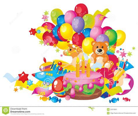 s birthday children s birthday stock image image 24018561