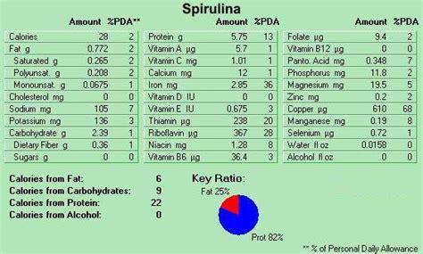 Spirulina Usa Suplement Protein the benefits spirulina