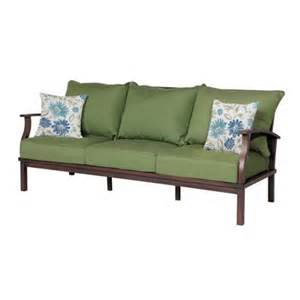 allen roth patio furniture reviews allen roth gatewood outdoor sofa lowe s canada