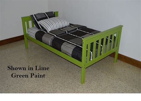 guard rail for twin bed platform bed with guard rail versa style twin or full size