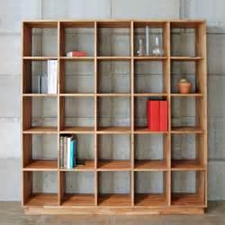 modern bookshelf mash studios lax 5x5 bookshelf modern bookcases